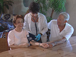 Home Care Services blood pressure check