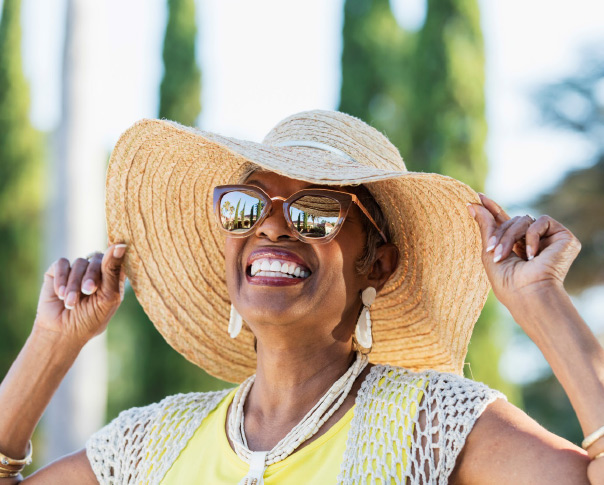 Skin cancer prevention tips help enable seniors to enjoy the summer.